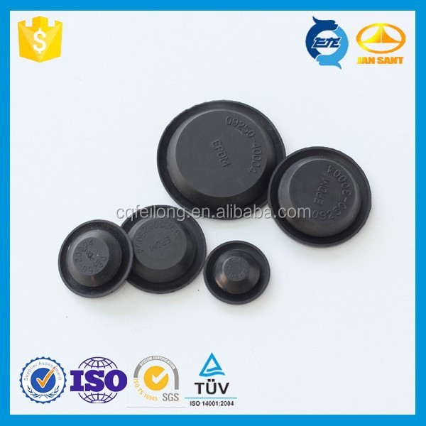 Plastic Hole Plug with Cap Made by Rubber Compound