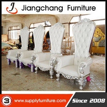 Silver Luxury Royal Throne Chairs For Sale JC-J92