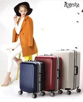 Hardshell aluminium travel bag,luggage bag,trolley luggage