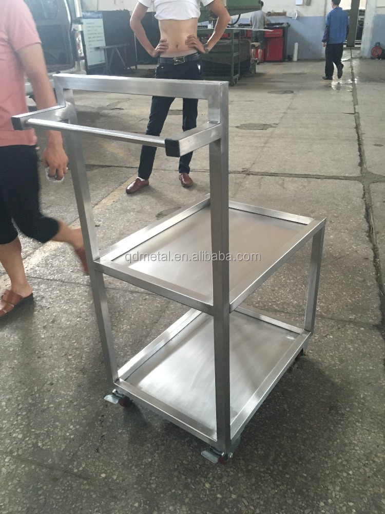 Heavy-Duty Platform Carts, Trolley Hand Truck, Heavy Duty Platform Trolley with Pneumatic wheels