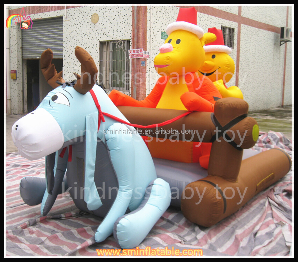 Merry Christmas Inflatable decoration,outdoor christmas display,inflatable yard decorations christmas
