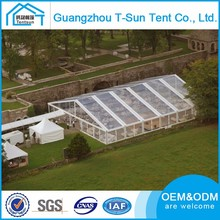 Large size promotional wedding tent with roof lining & side wall curtains