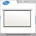ODM 60inch-150inch pull up projector 16 9 quick buffering screen
