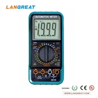 10 FUNCTIONS AUTOMOTIVE DIGITAL MULTIMETER