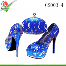 royal shoes and bag to match with GS003-4 matching shoes and bags for women italian shoes and bag set 2016