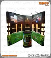 portable light weight pop up for trade show