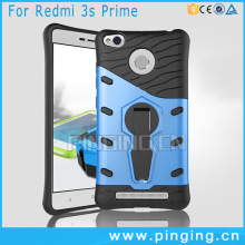 Factory Price PC TPU Impact Dual Layer Back Cover For Xiaomi Redmi 3S Prime Case