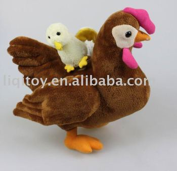 plush toy chiken