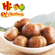 Organic frozen peeled roasted chestnuts