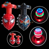 promotional Spinner peg-top toy, halloween &Christmas gift, led top spinner