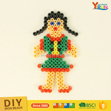 Direct selling educational toys 5mm hama mini beads for kids