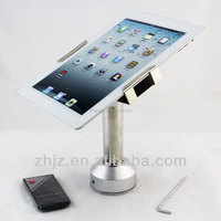 2015 customized tablet flexible arm stand,samsung galaxy 360 tablet stand, anti-theft bracket for ipad