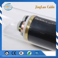 26-35KV crosslinked polythylence insulated PVC sheathed medium voltage power cable