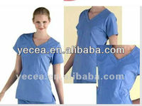 Hot cotton scrubs suit designs