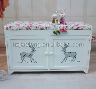 Shoes storage wood bench seat,wood stool ottoman,shoes-changing bench