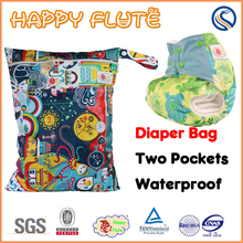 happy flute urinal pad long strap pul fabric baby reusable unscented diaper bag