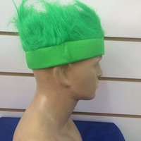 green color spirit hair headband with custom logo on for brand sales promotion