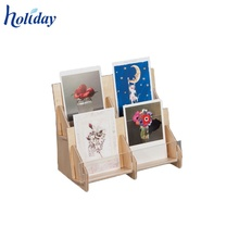 High Quality Cheap Greeting Card Wholesale Display Rack,Factory Custom Cardboard Greeting Card Display Stand