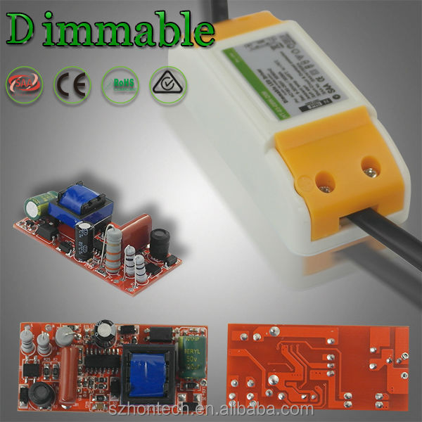 Constant Current Led Driver 3w 5w7w 8w SAA Led Driver 350ma output led dimmable driver