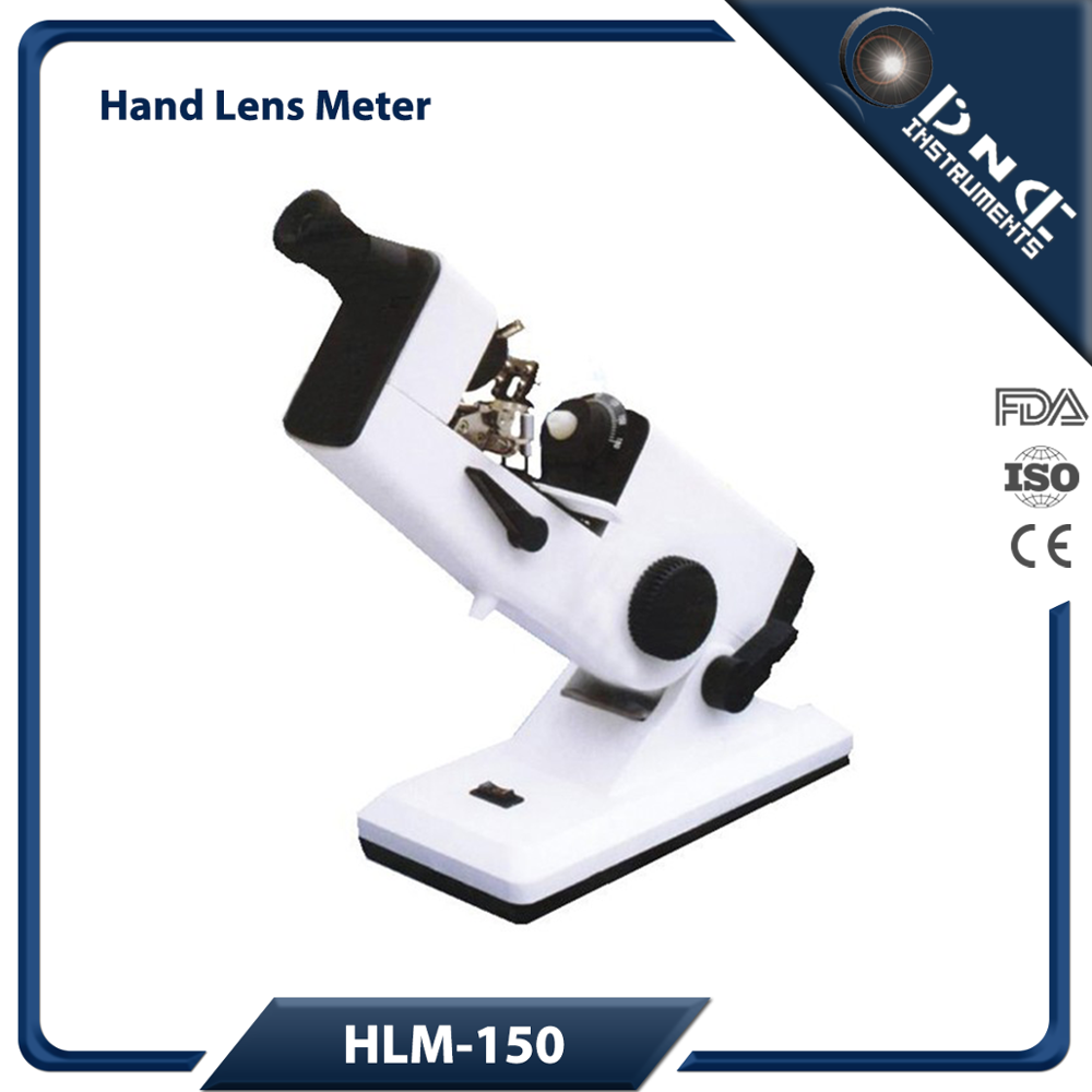 HLM-150 Optometry Instrument Hand Lensmeter With Compensation Prism