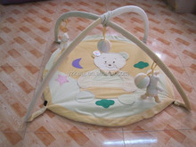 2015 baby soft plush bear play mat kid bear plush folding play mat
