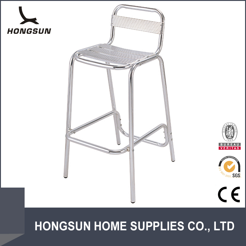 Modern No-Handrail Bar chair aluminum outdoor furniture