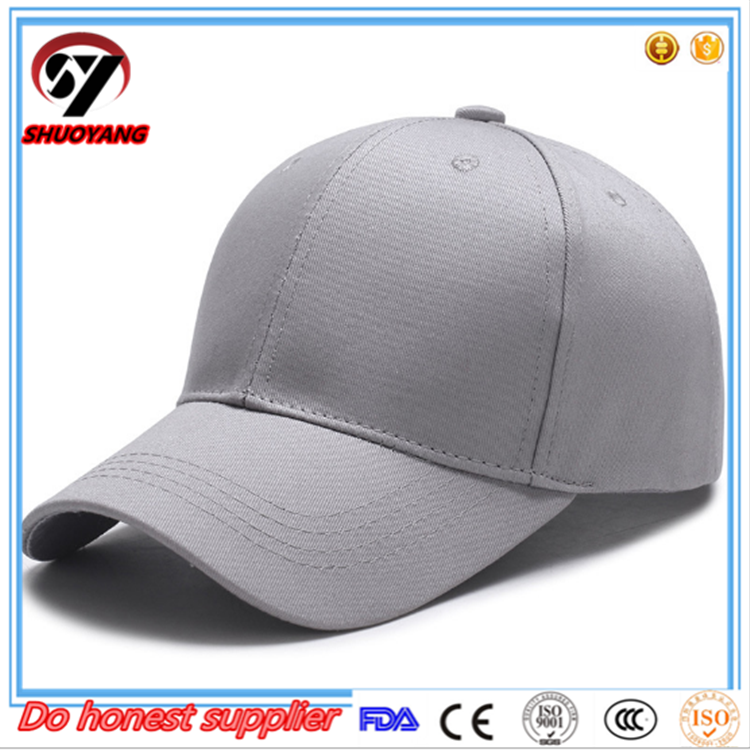 New Fashion Custom Embroidery plain distressed baseball cap, custom baseball cap hat,sembdoiered cap and hat