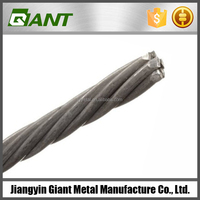 2015 factory 1x7 elevator stainless steel wire rope