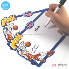 2016 wholesale writing board with magnetic children whiteboards dry erase board