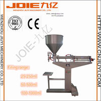 JELG-500 semi-auto pneumatic filling machine for honey