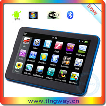 "Portable Android Car Gps Navigation 7"" Android Gps Navig With Gsm Locating T-703-A"