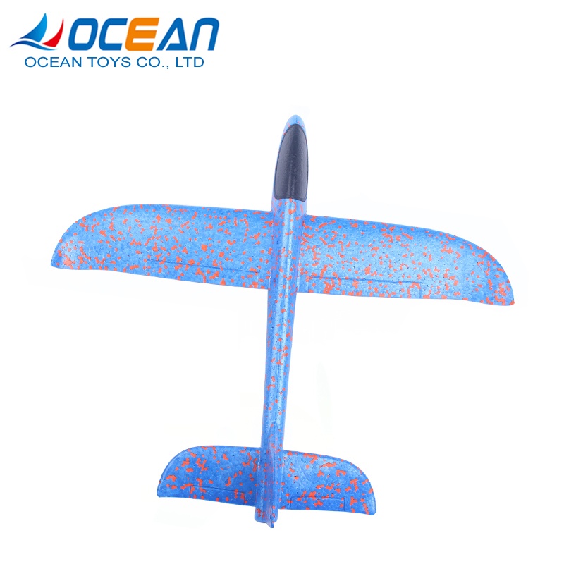 Best product glider flying amusing 2 colour assorted plane cheap small plastic toys for kids