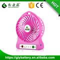 Newest Rechargeable USB Mini Handheld Battery Operated Pocket Fan