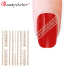 beauty sticker gel 3D nail accessory