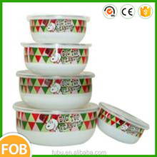 High quality ,Eight years production metal enamel bowl