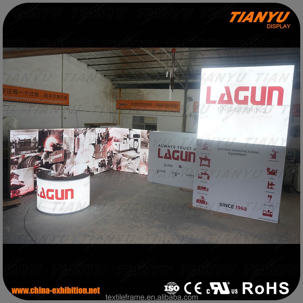 2017 hot sale trade show exhibition stall exhibition booth design