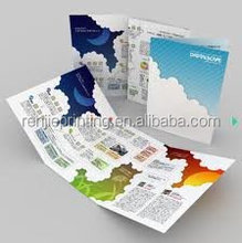 samples leaflet&printing&flyers&printing brochure