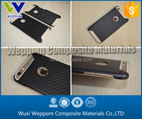 High Performance Cell Phone Shell For phone 6 Made From Carbon Fiber