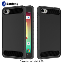 For Alcatel A50 Phone Cover, Pc Tpu Dual Layer Protective Case for Alcatel Crave