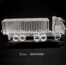 Exquisite Crystal Model truck Cars For Wedding Souvenir