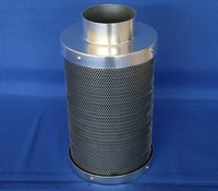 "4""carbon air filter for greenhouse manufacturer China /hydroponic carbon filter factory"
