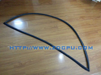 Automotive rubber seal strip for car door window protective