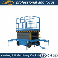 Working height 8m small hydraulic lift with cheap price