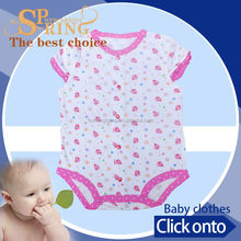Spring& autumn knitted infant romper baby clothes newborn boy