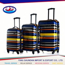 PC,ABS + PC Material abs/pc trolley case set