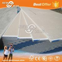 Waterproof Gypsum Board Standard Size / Plaster Board china manufacturer