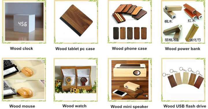 Hot selling walnut wood bamboo material for Ipad wooden leather case, for ipad air case