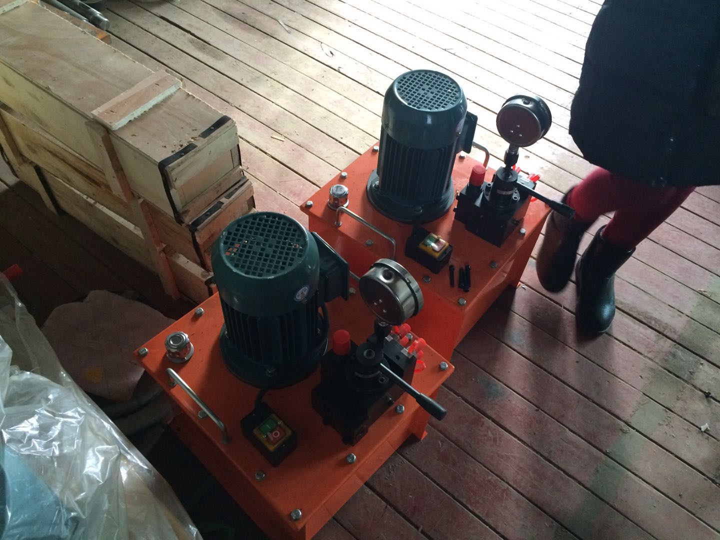 Real manufacturers, high pressure and low pressure electric hydraulic pump station in China