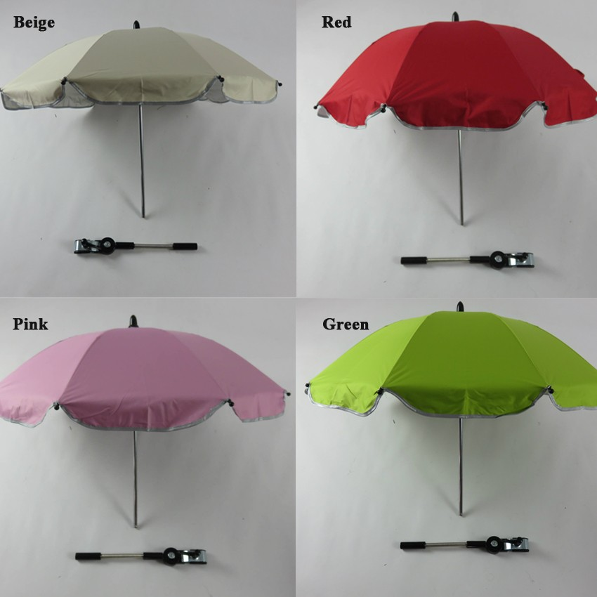 14inch x 8k Adjustable Baby Stroller Clamp Umbrella From Chinese Supplier