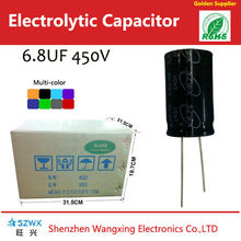 best seller 6.8uf 450v capacitors aluminum electrolytic capacitors
